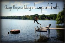 Take the leap of faith