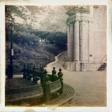 New York Central Park amphitheater