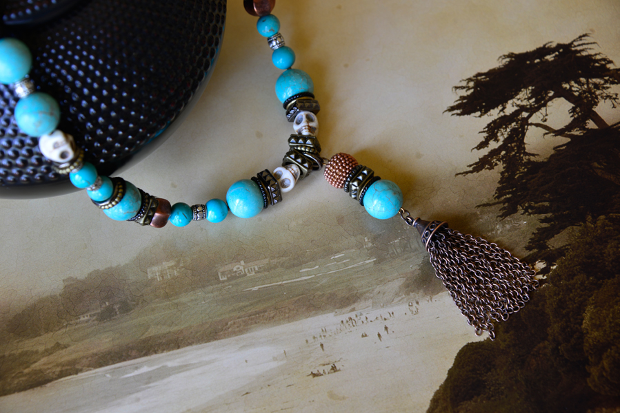 Necklace for Beauty departs but returns available at www.eclektics.com