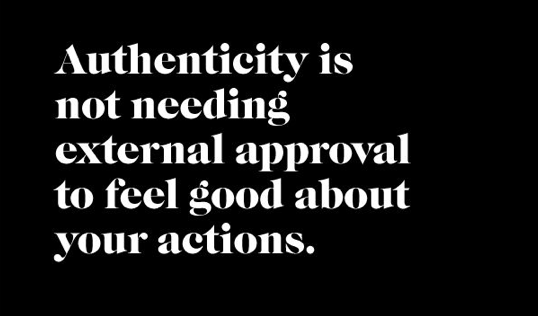 Authenticity: The Courage to Be Yourself #saturdaysoul