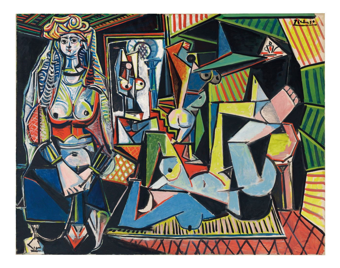 Painting of Picasso's Femmes-Dalger