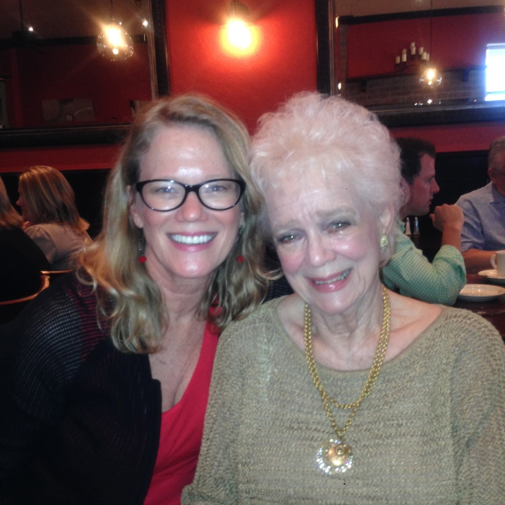 Sandy Hibbard and her mother Marie Hibbard