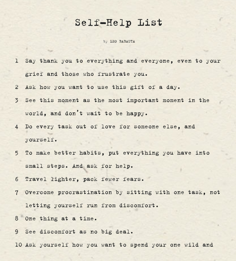 Self Help List copy.pages