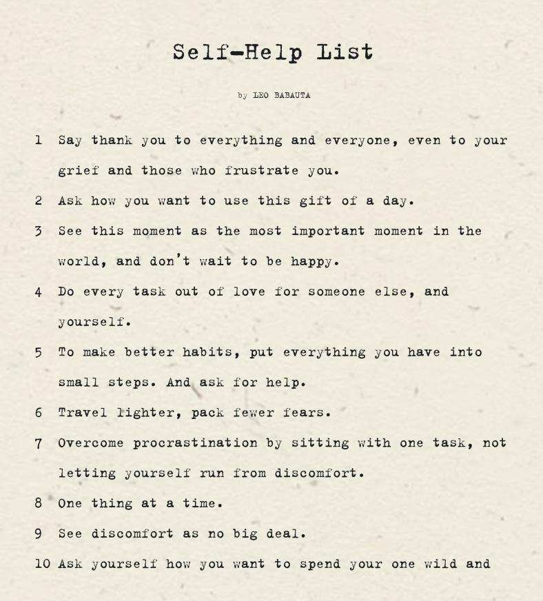 Self Help List copy.pages