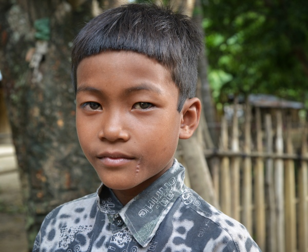 boy from cambodia by sandy hibbard at lensqueen.com photography