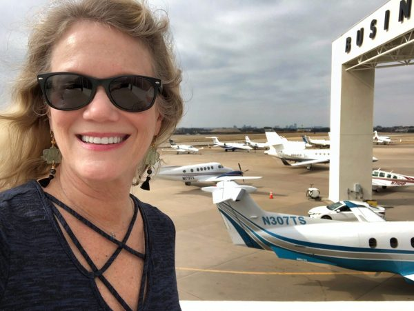 sandy hibbard at addison airport